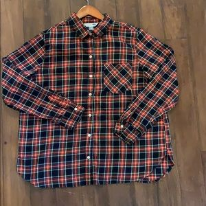 Size XL old Navy Flannel!
